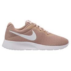Nike Tanjun Womens Casual Shoes Sand / White US 6, Sand / White, rebel_hi-res