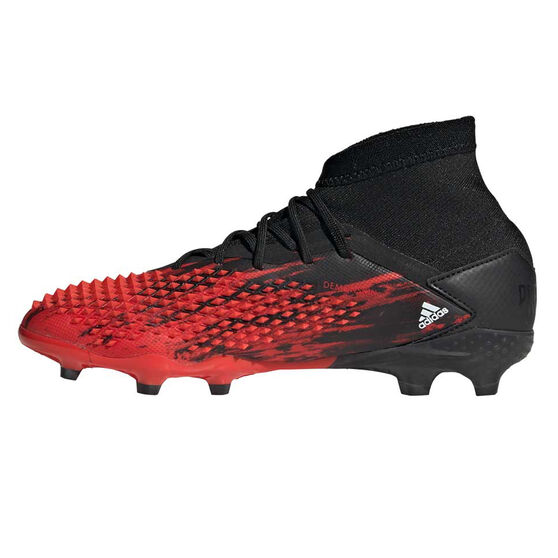 adidas Predator 20.1 Kids Football Boots, Black / White, rebel_hi-res