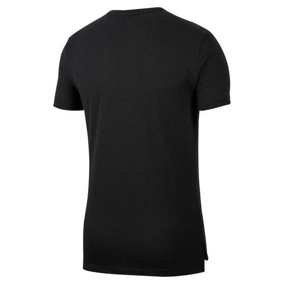 Nike Mens Dri-FIT HPR Training Tee, Black, rebel_hi-res