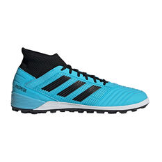 adidas Predator 19.3 Touch and Turf Boots Blue / Black US Mens 7 / Womens 8, Blue / Black, rebel_hi-res