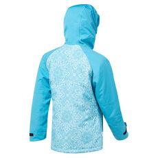 Tahwalhi Girls Crystal Ski Jacket Blue 4, Blue, rebel_hi-res