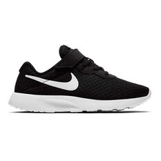 Nike Tanjun Kids Casual Shoes Black / White 11, Black / White, rebel_hi-res