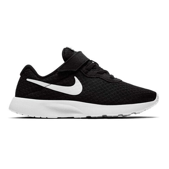 Nike Tanjun Kids Casual Shoes, Black / White, rebel_hi-res