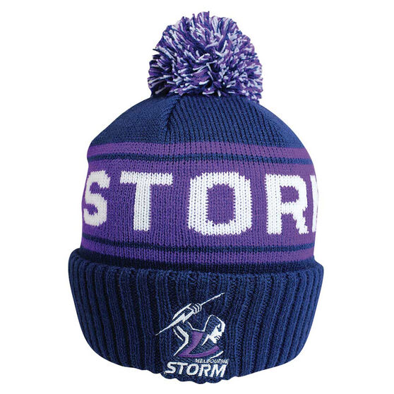 Melbourne Storm Striker Beanie, , rebel_hi-res