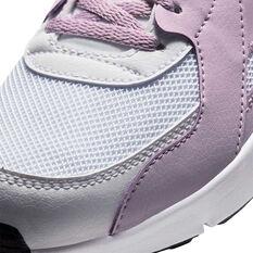 Nike Air Max Excee Kids Casual Shoes Purple/White US 7, Purple/White, rebel_hi-res