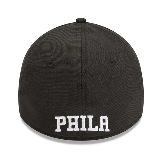 Philadelphia 76ers 39THIRTY Black White Cap, Black / White, rebel_hi-res