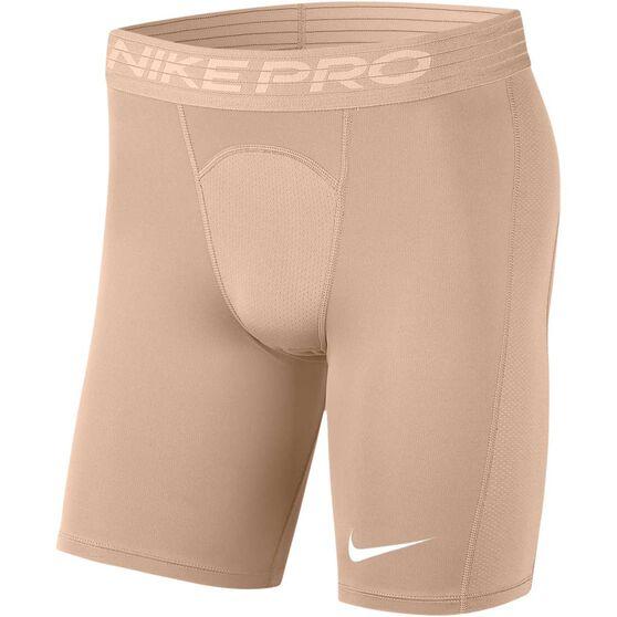 Nike Mens Pro Shorts, Beige, rebel_hi-res