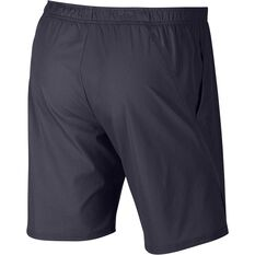 Nike Court Mens Flex Ace Tennis Shorts Black XS, Black, rebel_hi-res