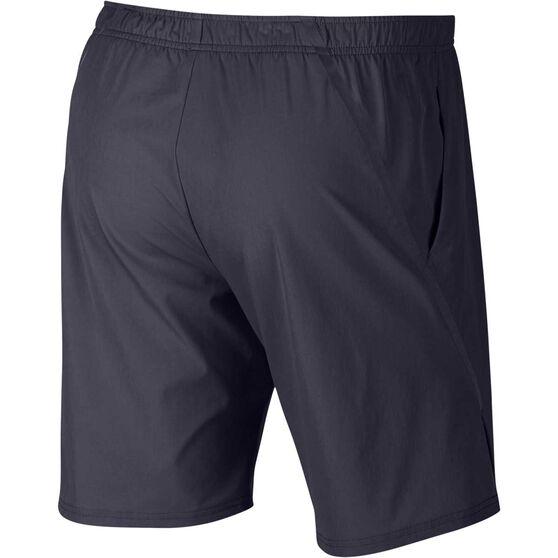 Nike Court Mens Flex Ace Tennis Shorts, Black, rebel_hi-res