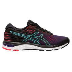 Asics GEL Cumulus 21 Womens Running Shoes Black / Pink US 6, Black / Pink, rebel_hi-res