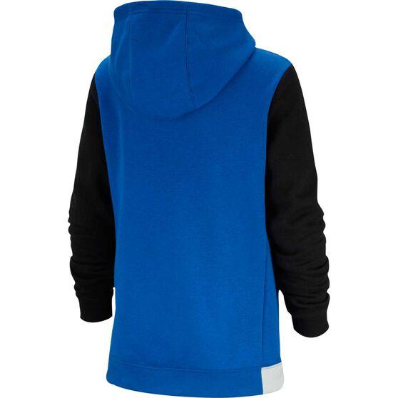 Nike Boys Pullover Hoodie, Royal Blue / Black, rebel_hi-res