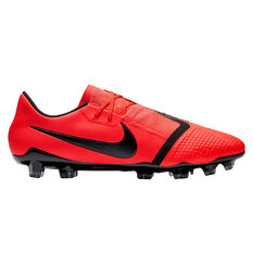 Nike Phantom Venom Pro Mens Football Boots Red / Silver US Mens 7 / Womens 8.5, Red / Silver, rebel_hi-res