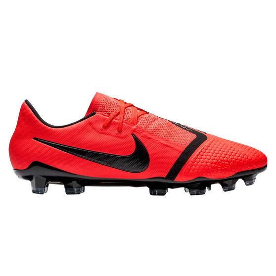 Nike Phantom Venom Pro Mens Football Boots, Red / Silver, rebel_hi-res