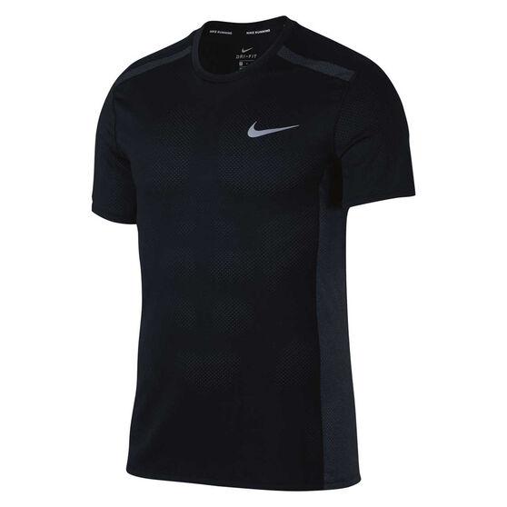 Nike Mens Cool Miler Running Tee, , rebel_hi-res
