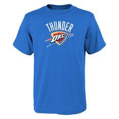 Oklahoma City Thunder Kids Primary Logo Tee Blue S 91fc648996