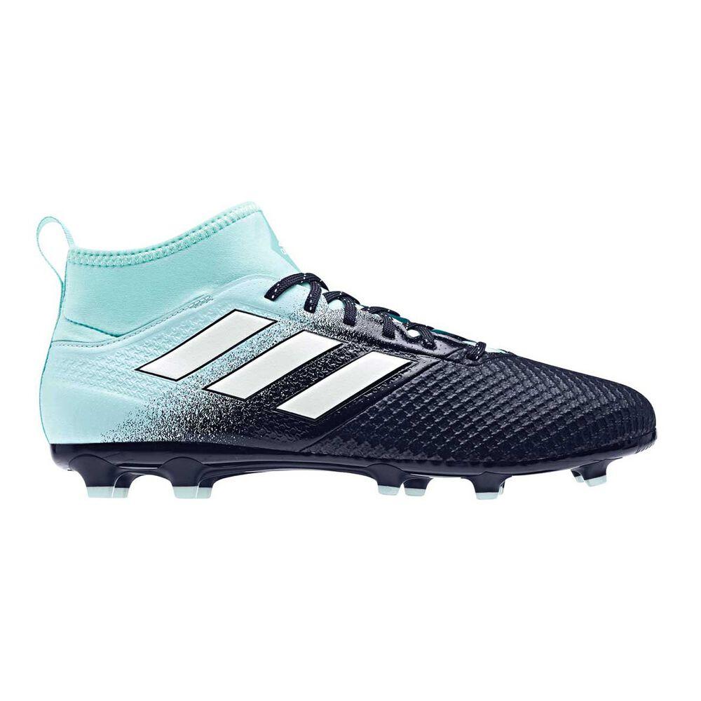 promo code b7ffa 3037a adidas ACE 17.3 Mens Football Boots Aqua / Navy US 7 Adult