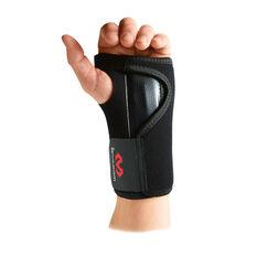 McDavid Adjustable Wrist Brace Black Left Hand, Black, rebel_hi-res