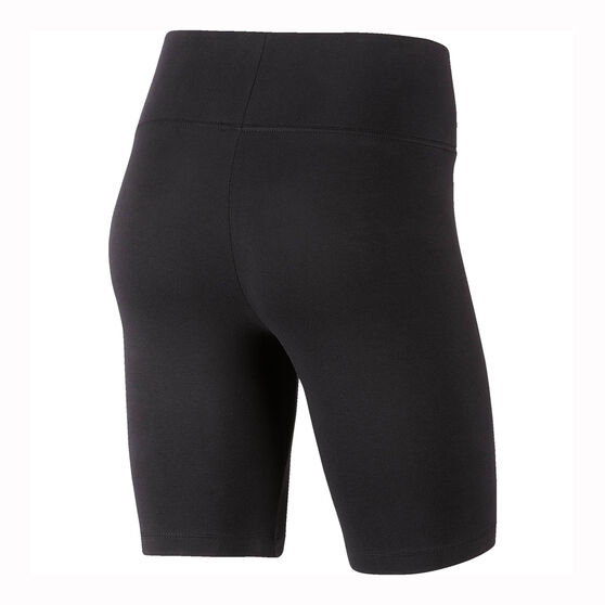 Nike Womens Sportswear Leg A See Bike Shorts, Black, rebel_hi-res