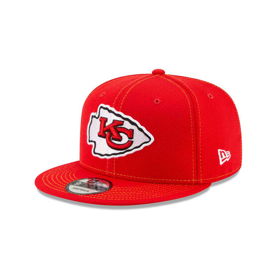 Kansas City Chiefs Sideline Road 9FIFTY Snapback, , rebel_hi-res