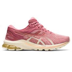 Asics GT 1000 10 Womens Running Shoes Pink/Gold US 6, Pink/Gold, rebel_hi-res