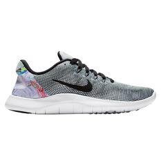 Nike Flex RN 2018 Premium Womens Running Shoes White / Black US 6, White / Black, rebel_hi-res