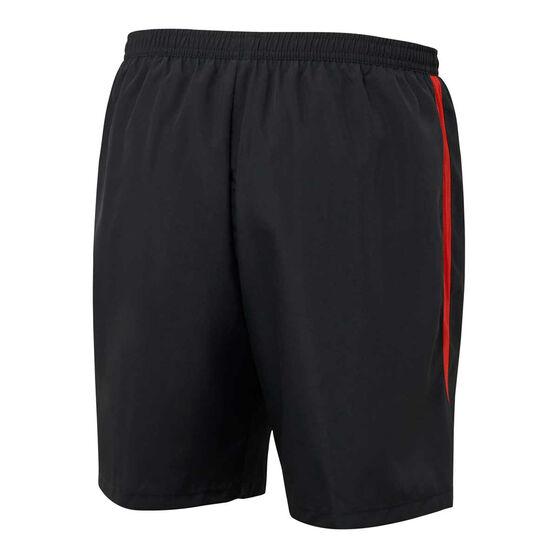 Sydney Swans 2021 Mens Coaches Shorts, Black, rebel_hi-res