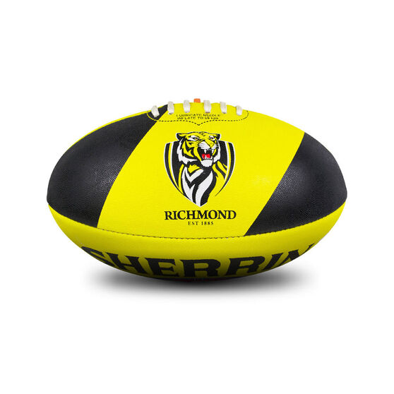 Sherrin AFL Richmond Tigers Synthetic Ball, , rebel_hi-res