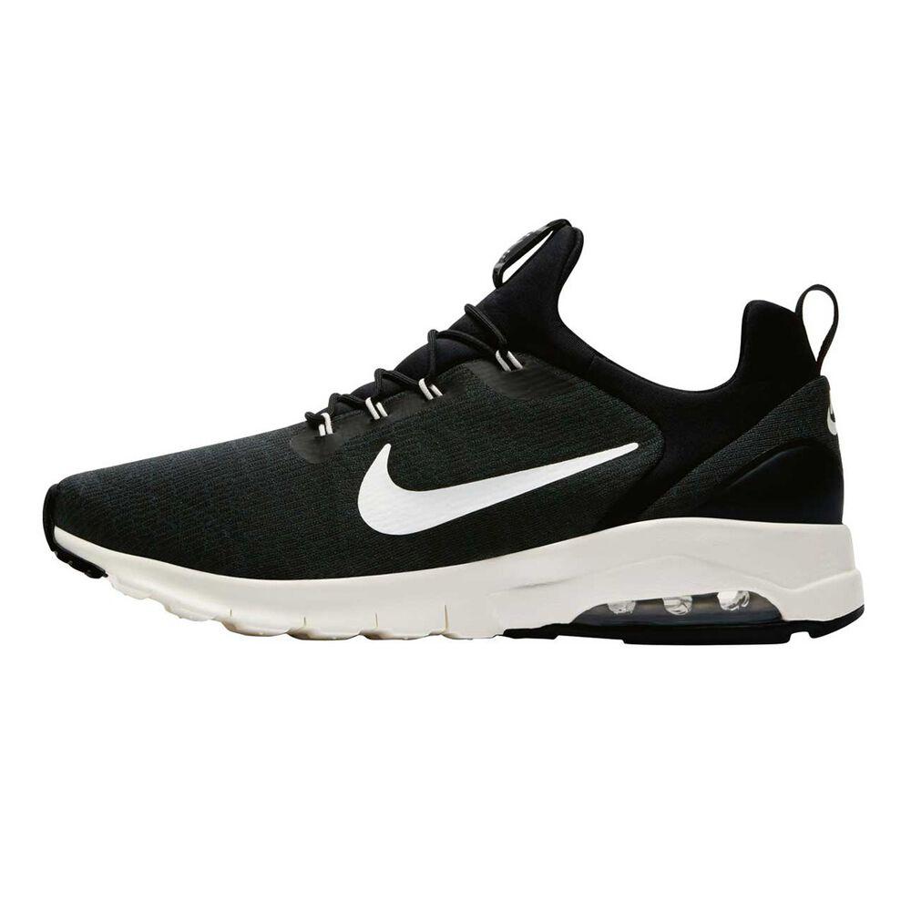 newest 11c2b c46ab Nike Air Max Motion Racer Mens Casual Shoes Black US 10, Black, rebel hi-