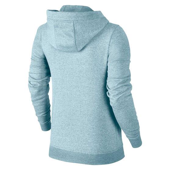 Nike Womens Sportswear Fleece Hoodie, Topaz, rebel_hi-res