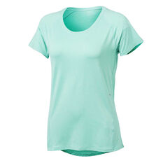 Ell & Voo Womens Sophie Workout Tee Blue XS, Blue, rebel_hi-res