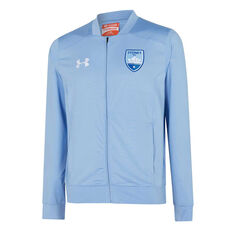 Sydney FC 2019/20 Mens Jacket Blue S, Blue, rebel_hi-res