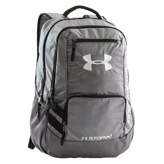 d62505772d0a Under Armour Hustle Backpack Grey