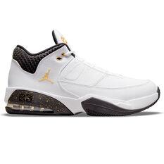 Jordan Max Aura 3 Basketball Shoes White US 7, White, rebel_hi-res