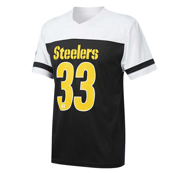 Pittsburgh Steelers Poly Mesh Tee, , rebel_hi-res