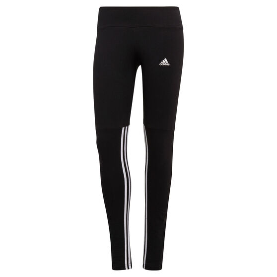 adidas Womens Essentials Cut 3-Stripes Tights, , rebel_hi-res
