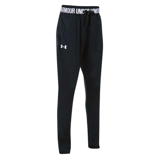 Under Armour Girls UA Tech Jogger Pants, Black, rebel_hi-res