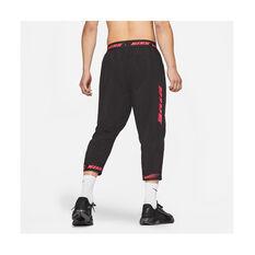 Nike Mens Sports Clash Training Pants Black S, Black, rebel_hi-res
