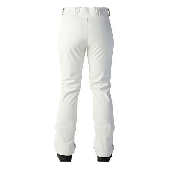 Rojo Womens Va Va Boom Ski Pants, White, rebel_hi-res