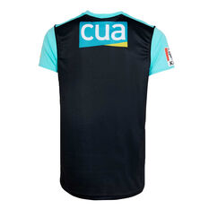 Brisbane Heat 2019/20 Kids Neon Nights BBL Jersey Black / Teal, Black / Teal, rebel_hi-res