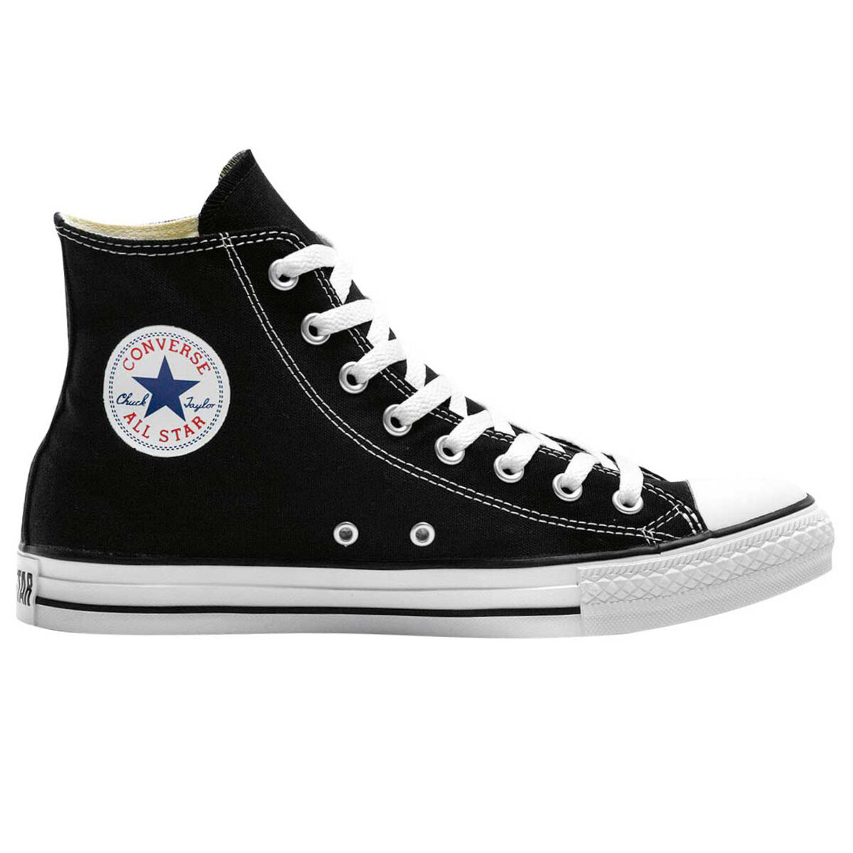 Converse Chuck Taylor All Star Hi Top Casual Shoes Black White US Mens 4 Womens 6