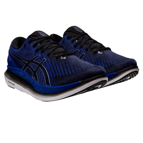 Asics GlideRide 2 Mens Running Shoes, Blue/Black, rebel_hi-res