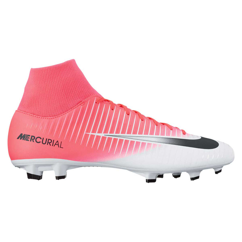 ba3b337d47006 Nike Mercurial Victory VI Dynamic Fit Mens Football Boots Pink   White US  11 Adult