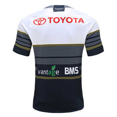 North Queensland Cowboys 2020 Mens Away Jersey Navy / White S, Navy / White, rebel_hi-res