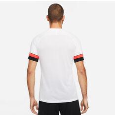 Nike Mens Dri-FIT Academy Soccer Tee White S, White, rebel_hi-res