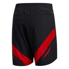 adidas Mens Own The Run Shorts Black S, Black, rebel_hi-res