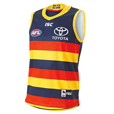 Adelaide Crows 2019 Mens Home Guernsey Navy S, Navy, rebel_hi-res