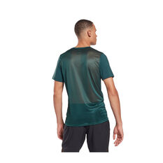 Reebok Mens Workout Ready ACTIVCHILL Graphic Tee, Green, rebel_hi-res