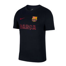 FC Barcelona 2019/20 Mens Core Match Tee Navy S, Navy, rebel_hi-res