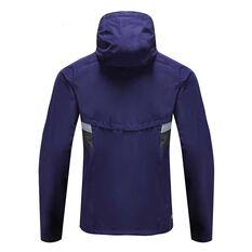 Fremantle Dockers 2020 Mens Wet Weather Jacket Purple S, Purple, rebel_hi-res