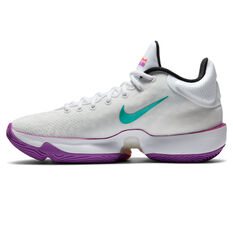 Nike Zoom Rize 2 Mens Basketball Shoes White/Red US 7, White/Red, rebel_hi-res